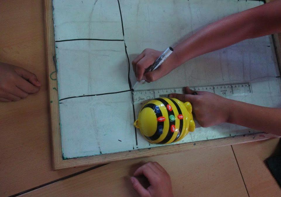 Descobrim amb els robots el Bee-Bot 3r